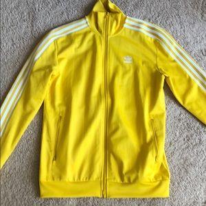 Adidas Yellow firebird jacket